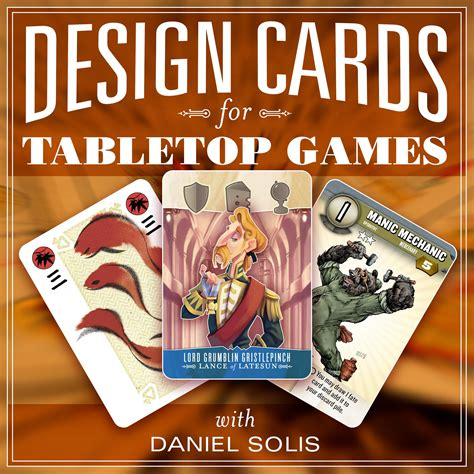 game design design   print ready cards  table