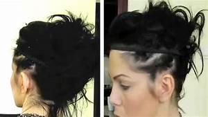 Tuto Coiffure Cheveux Court : tuto coiffure tendance cheveux courts youtube ~ Melissatoandfro.com Idées de Décoration