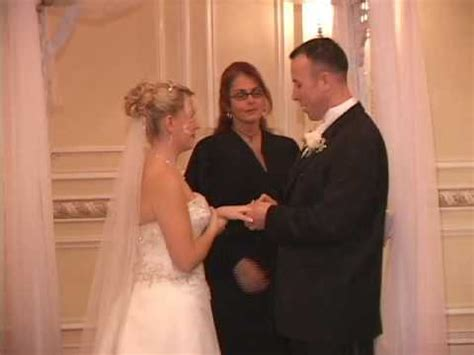 marriage vows wedding ring exchange youtube
