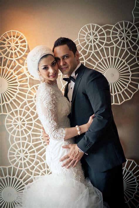 bridal headscarf veil inspiration hijab bride modest
