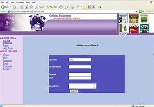 Online Examination Management System Java Project