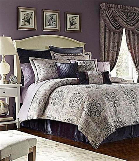 croscill nomad bedding collection dillards muted plum
