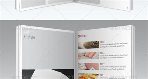 series a6 pocket brochure template black books fonts and