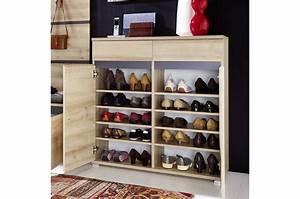 Meuble à Chaussures But : meuble chaussures d cor bois h tre 20 paires cbc meubles ~ Teatrodelosmanantiales.com Idées de Décoration