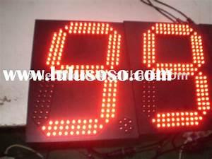 Wireless 7 Segment Display Digital Clock Circuit Diagram