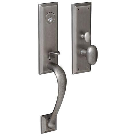 baldwin door hardware entry door in stock single with 2 sidelites solid wood