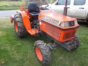 Kubota B2150hsd Tractor Illustrated Master Parts List