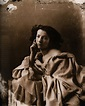 Vintage Ephemera: Photo of French actress Sarah Bernhardt