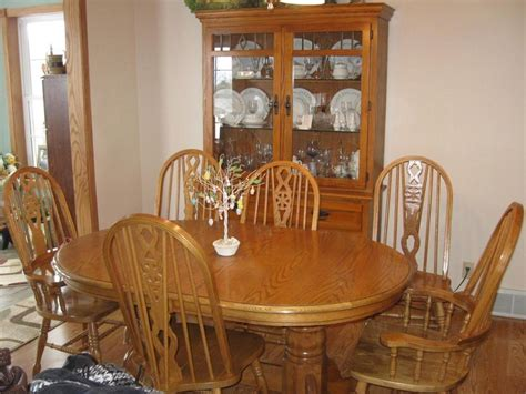 dining room table and hutch beautiful dining tables and chairs oak dining set with