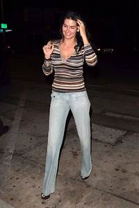 """Angie Harmon Outside """"Craigs"""" restaurant in West Hollywood ..."""