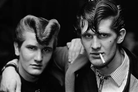 Teddy Boy Hairstyles by The Teds Chris Perkins Magnum Photos