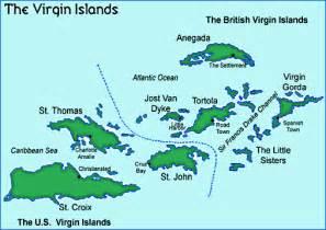 Maps of the United States Virgin Islands. U.S. Virgin Islands