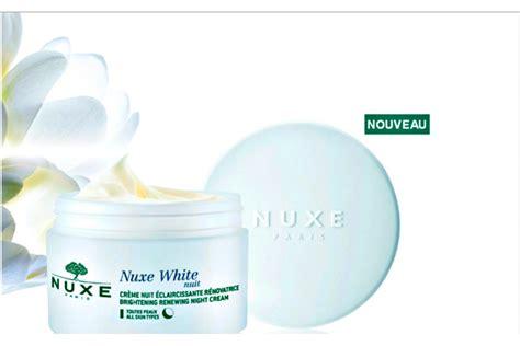 laboratoire nuxe siege social nuxe white la crème de nuit éclaircissante et rénovatrice