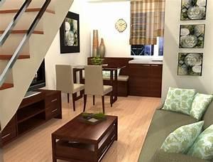 Small, Space, Condo, Interior, Design