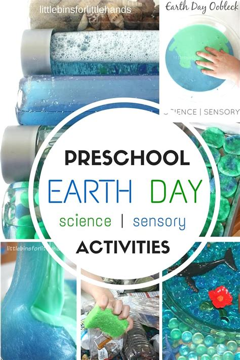 earth day activities for preschool bins for 138 | Preschool Earth Day activities science STEM and sensory play idea to celebrate Earth Day 2