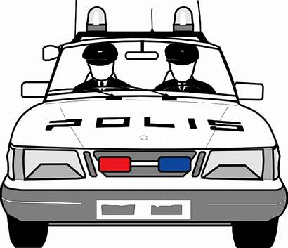 Police Clip Library Clipart Coloring Pages