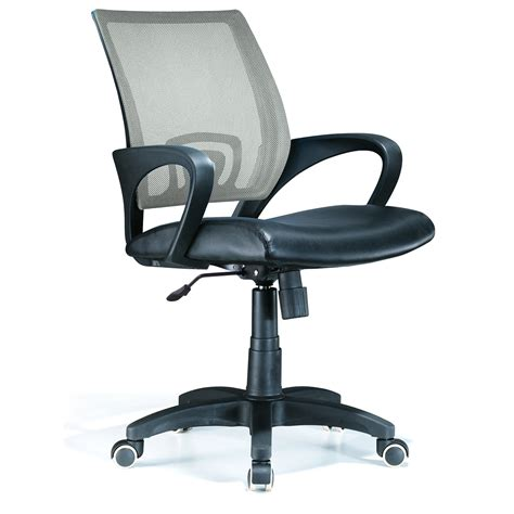lumisource officer mesh back office chair