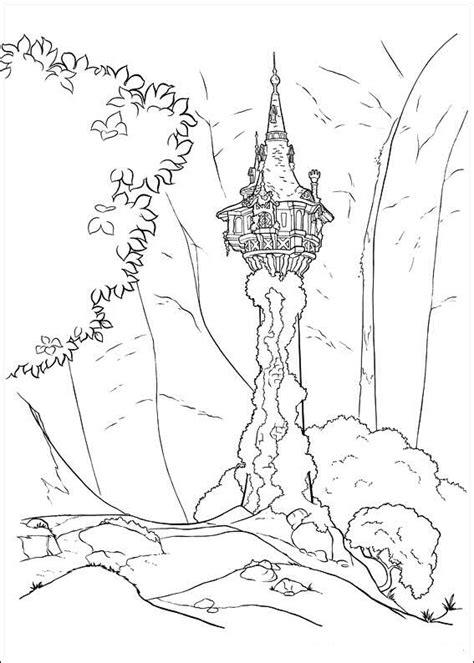 Kleurplaat Rapunzol by N 20 Kleurplaten Rapunzel