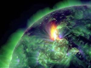 Sun hurls strong geomagnetic storm toward Earth