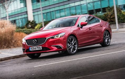 Wallpaper Mazda 6, Mazda, Sedan, Uk-spec, 2015 Images For