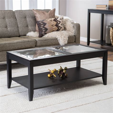 Video process on how i create an elegant coffee table from a large slab of pine and a pane of glass. 30 Best Ideas of Glass Coffee Tables With Storage