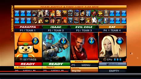 siege playstation playstation allstars battle royale 2 characters