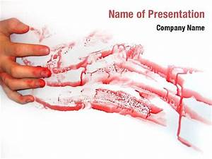 blood hand print powerpoint templates blood hand print With killer powerpoint templates