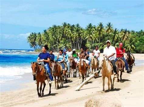 riding puerto rico horseback jamaica horse things plata beach ocho rios playa island dominican republic cueva rancho interesting trip juan