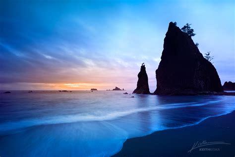 Photo Trekkerrialto Beach Sunset Photo Trekker