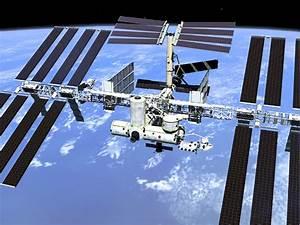 Zie de ISS overvliegen