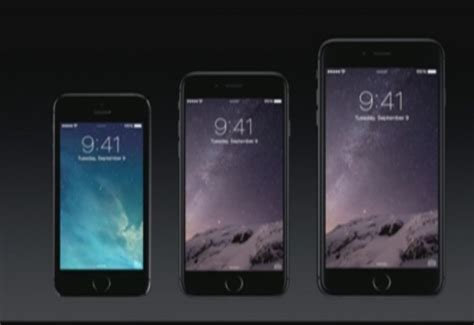 iphone 4 5 6 7 apple unveils the 4 7 inch iphone 6 and 5 5 inch iphone 6
