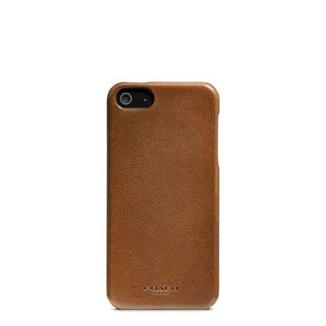 coach iphone 5 coach s shop leather iphone 5 style guide