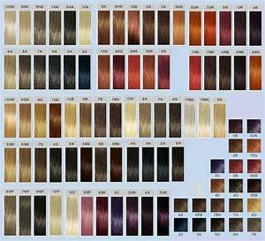 Goldwell Colorance Color Chart Goldwell Topchic Color Chart Jpg Hair Dye Swatches