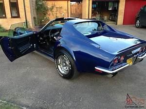 Corvette C3 Stingray : 1970 c3 corvette stingray l46 5 7 4 speed manual in mint condition ~ Medecine-chirurgie-esthetiques.com Avis de Voitures