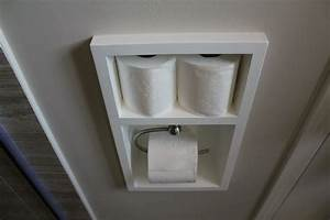 Built-in Toilet Paper Holder (aka working with small