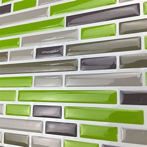 Art3d Kitchen Backsplash Peel & Stick Tile, Smart Brick