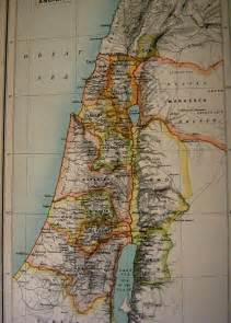 Ancient Israel and Palestine Map