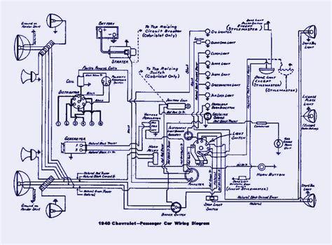 Chevrolet Passenger Electrical Wiring Diagram Auto