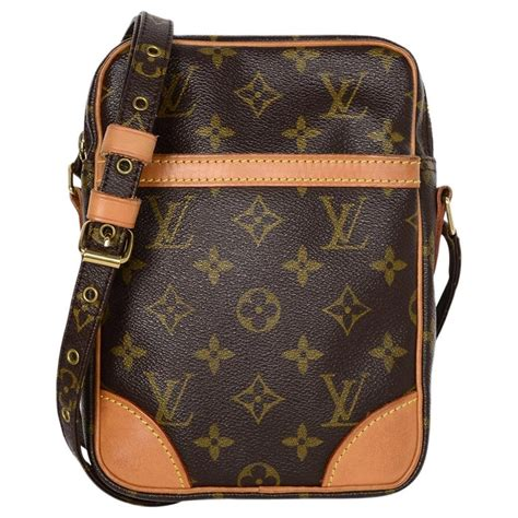 louis vuitton lv monogram canvas danube crossbody bag  sale  stdibs