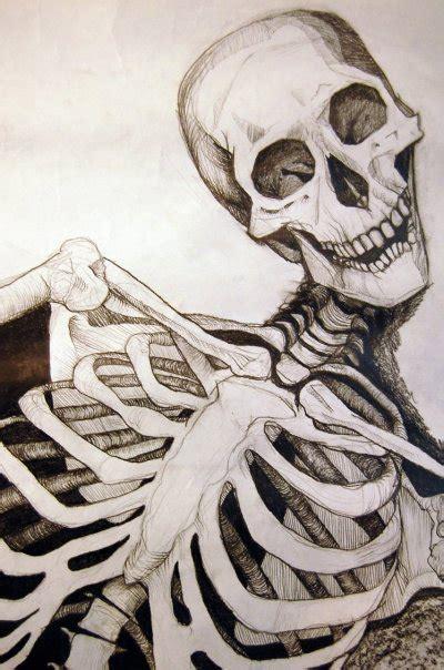 skeleton drawing close  ericaneradts blog