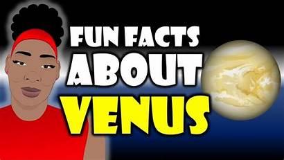 Venus Facts Fun Planet Cartoon Space Lesson