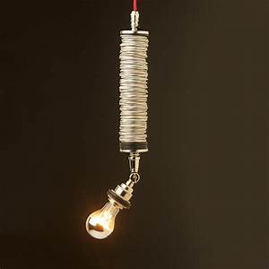 Long drop tube pendant light fitting of can top rings