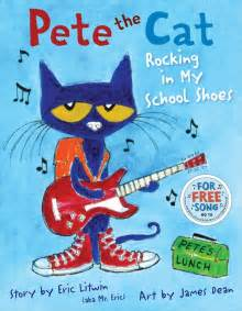 pete the cat rocking in my school shoes nerdy with children