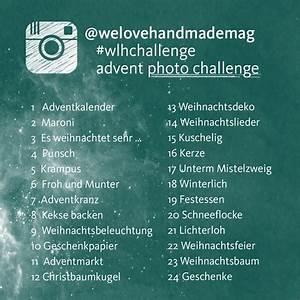 Instagram Bilder Ideen : ank ndigung wlhchallenge im dezember we love handmade ~ Frokenaadalensverden.com Haus und Dekorationen