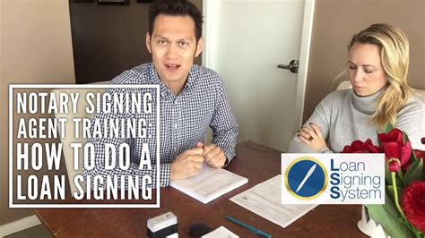 How To Do A Loan Signing As A Notary Public