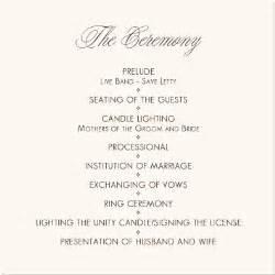 catholic wedding program templates with mass wedding programs wedding program wording program sles