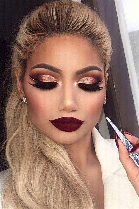 winter themed face makeup  ideas  modern