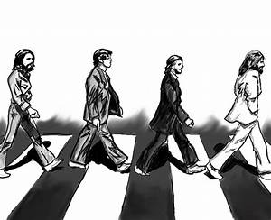 Beatles Black And White Abbey Road | www.pixshark.com ...