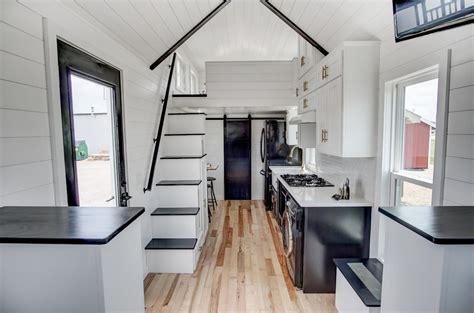 beautifully designed tiny house  luxury kitchen  spacious living area idesignarch