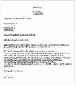 Widerspruch Rechnung Frist : widerspruch einlegen wenn der steuerbescheid falsch ist ~ Themetempest.com Abrechnung